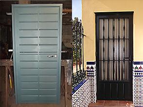 Galer a p g 3 carpinter a met lica sevilla 954403693 - Puertas para porches ...